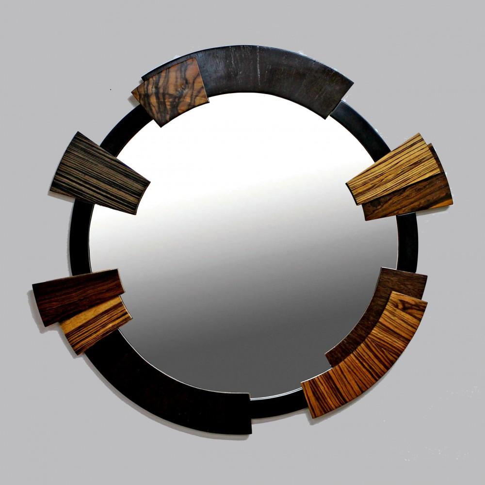 Фанерование шпоном МДФ рам для зеркал на заказ