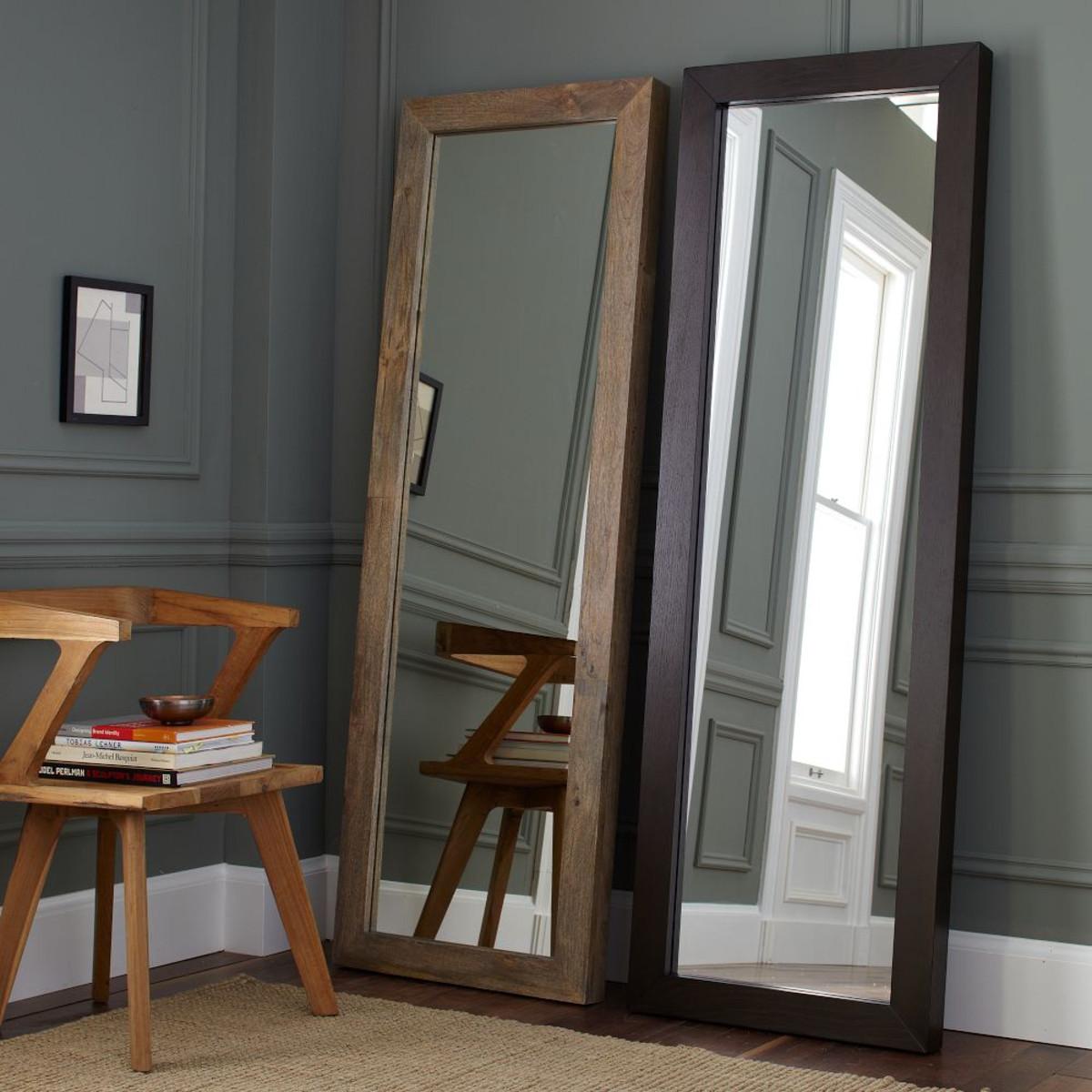 Зеркала напольные из массива