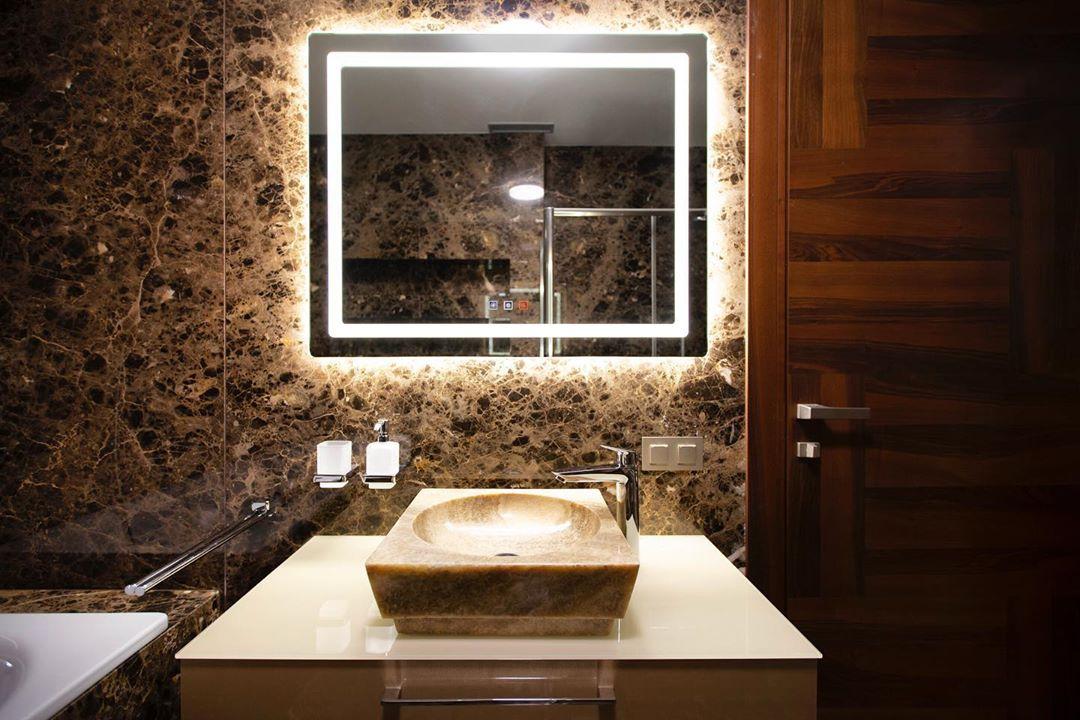 Зеркала с LED подсветкой на заказ